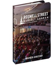 View Roswell Street Baptist Church's directory
