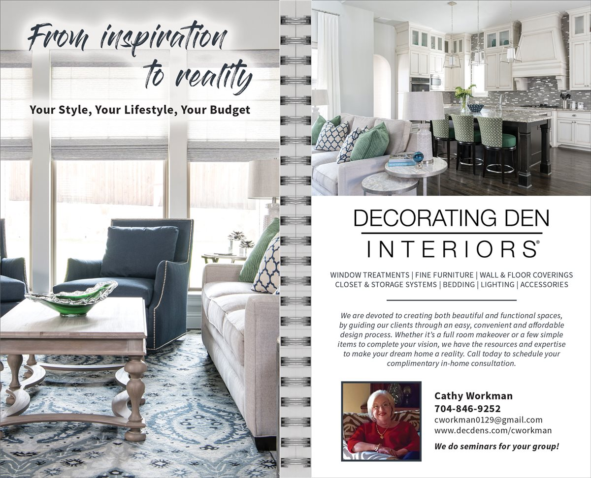 Cathy Workman dba Decorating Den Interiors