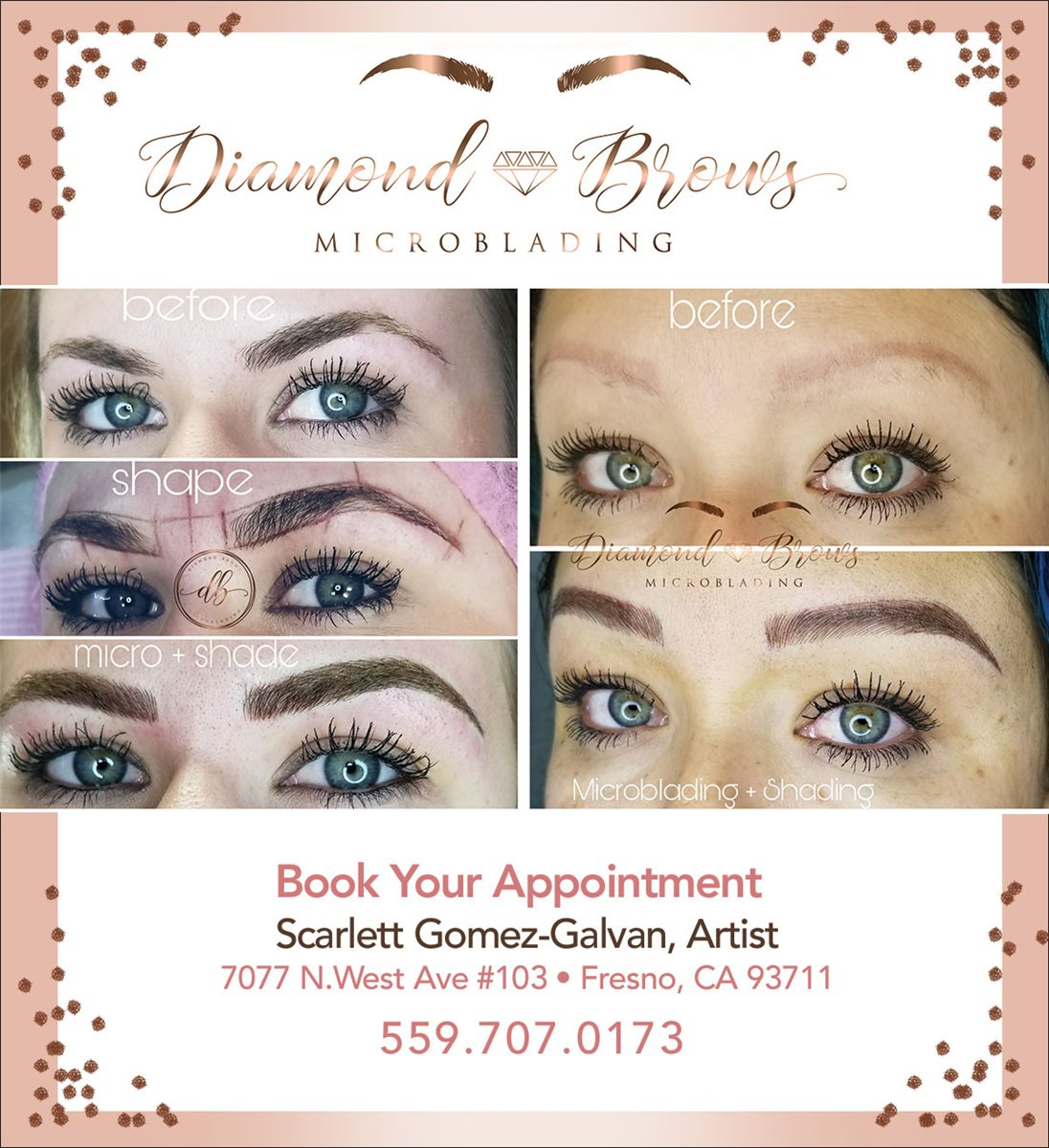 Christians In Business Diamond Brows Microblading Details