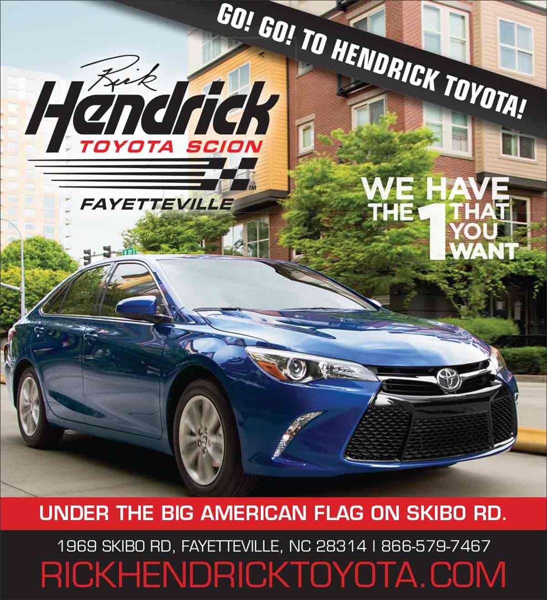 Rick Hendrick Toyota Scion
