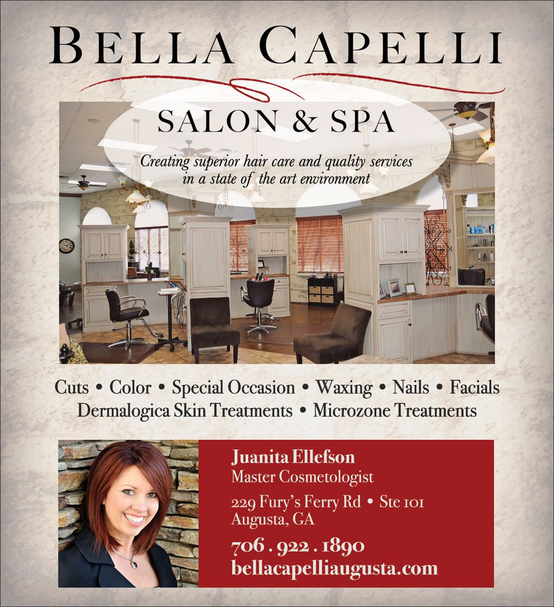 Christians In Business - Bella Capelli Salon & Spa - Details