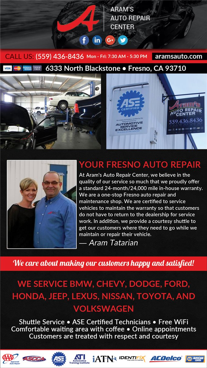 Aram's Auto Repair Center