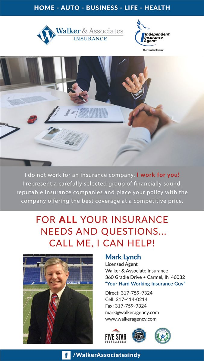 Walker & Associates Insurance - Mark Lynch