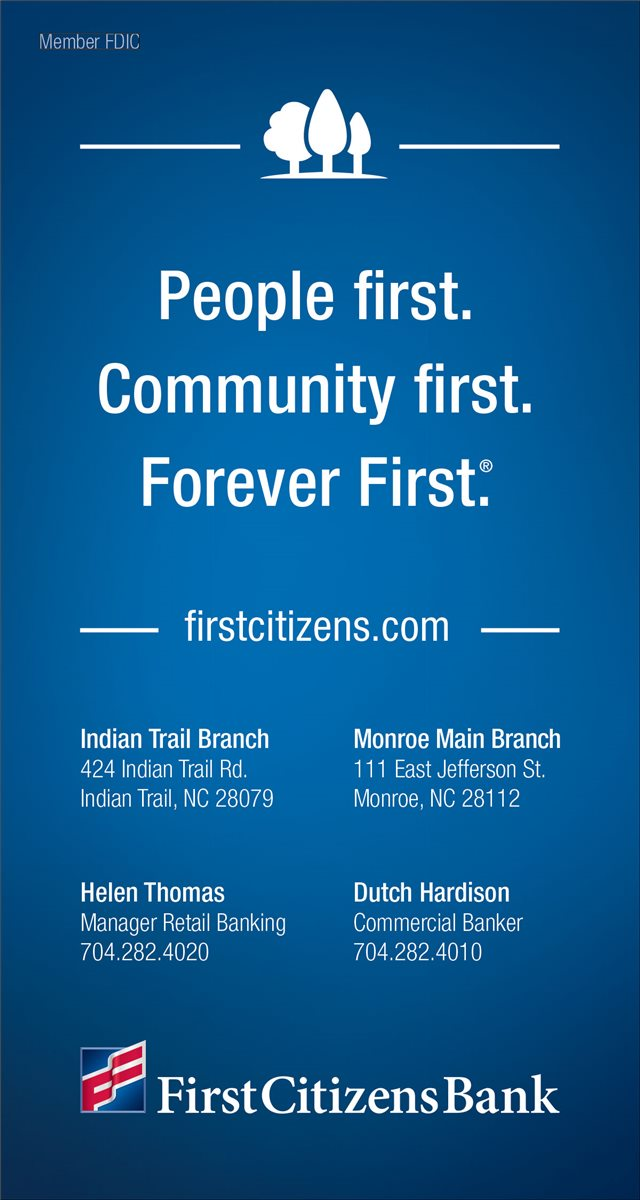 Christians In Business - First Citizens Bank | Indian Trail