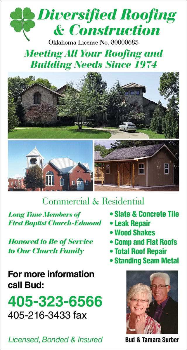 Christians In Business Diversified Roofing